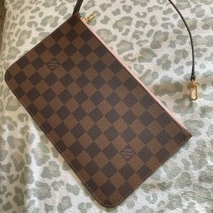 Louis Vuitton Zippered Clutch